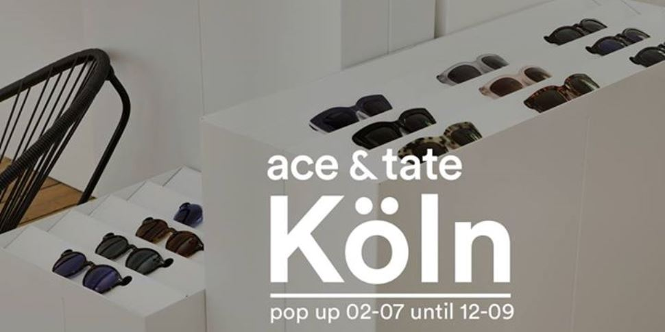 Ace and Tate Pop-Up Store-Opening in Köln-Ehrenfeld